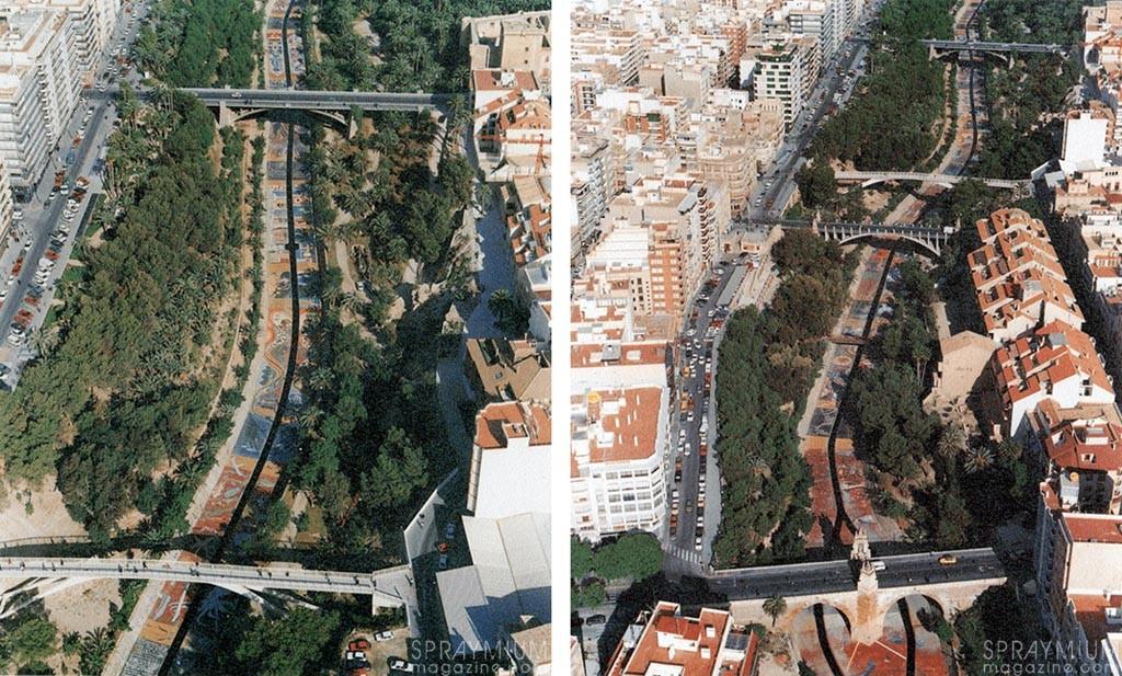 Le projet Vibora tel qu'il était visible en 1991.