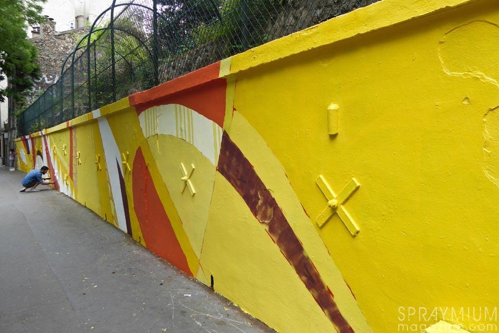 romain froquet karcher artazoi muralism street art 9e concept spraymium