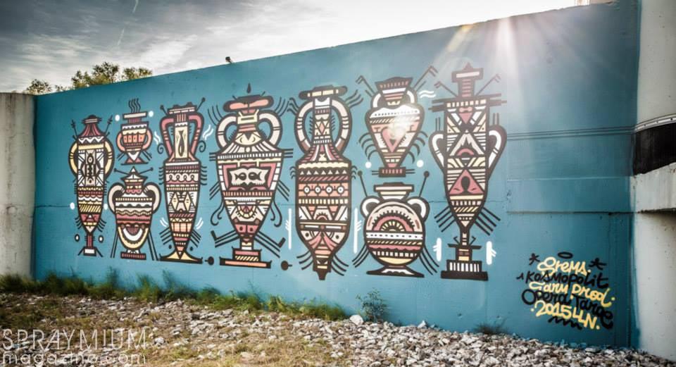 kosmopolite art tour louvainlaneuve farmprod graffiti streetart spraymium