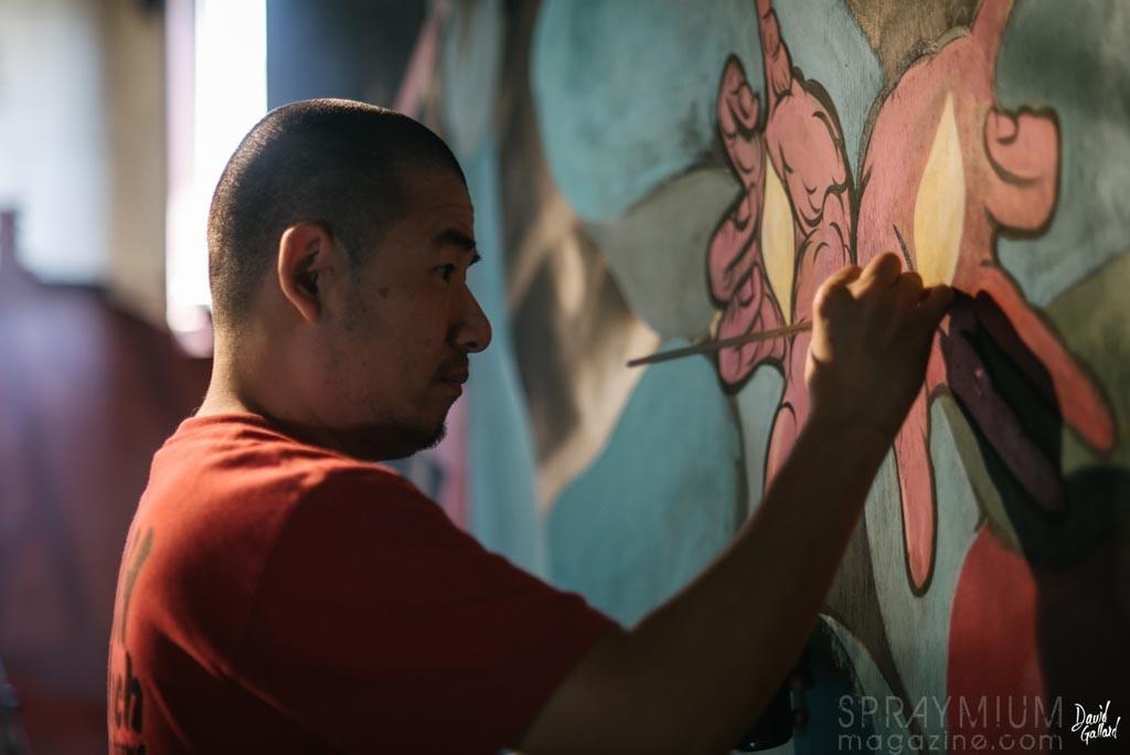 Hideyuki Katsumata asie riderz art streetart nantes pickup spraymium