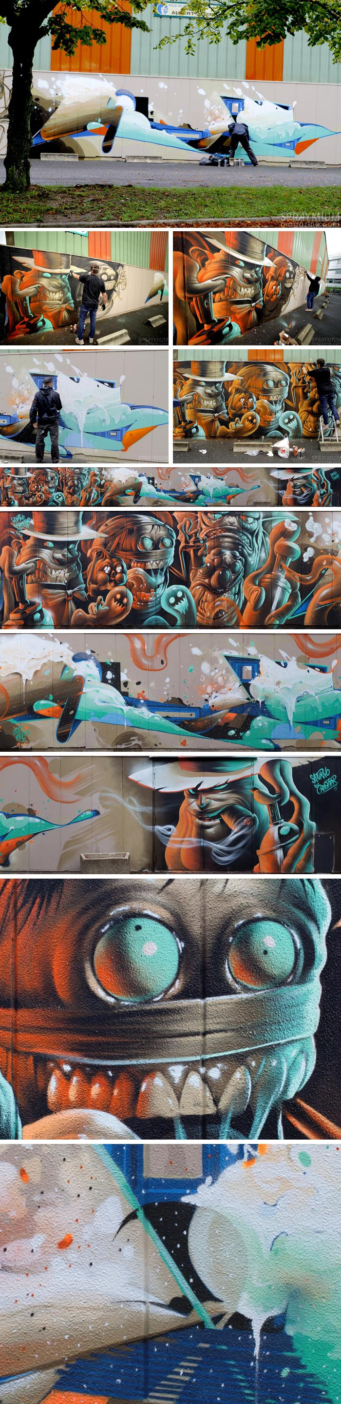 artauxgants spraymium festival graffiti writing art11 spraycanart rens saturno