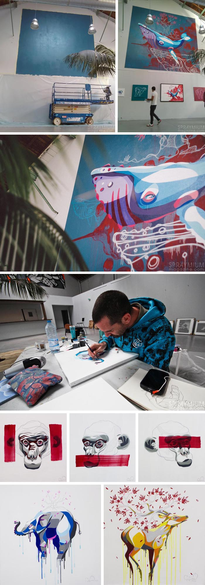 exposition mister freeze toulouse art urbain contemporain graffiti postgraffiti streetart muralism spraymium gorg