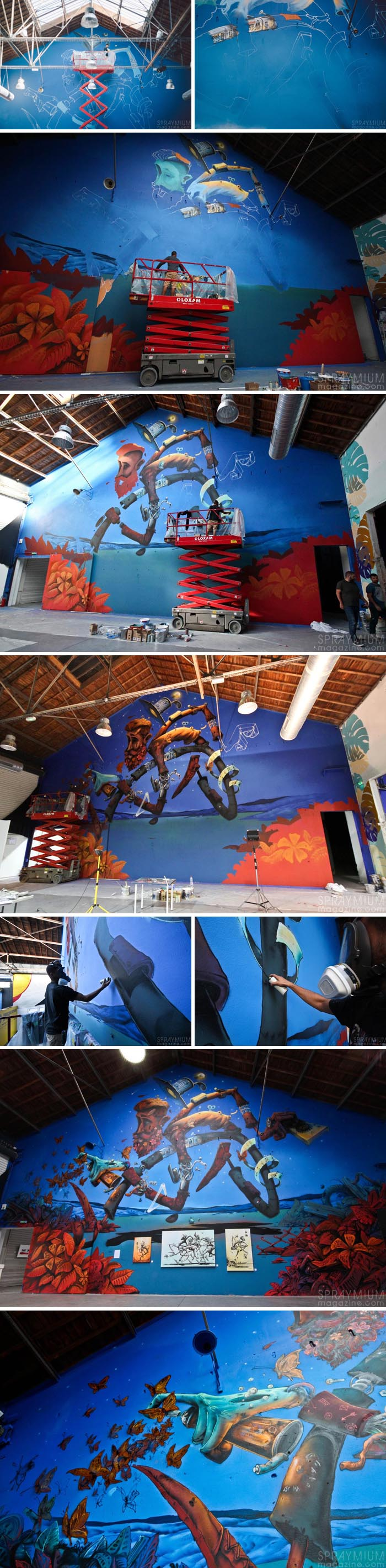 exposition mister freeze toulouse art urbain contemporain graffiti postgraffiti streetart muralism spraymium maye