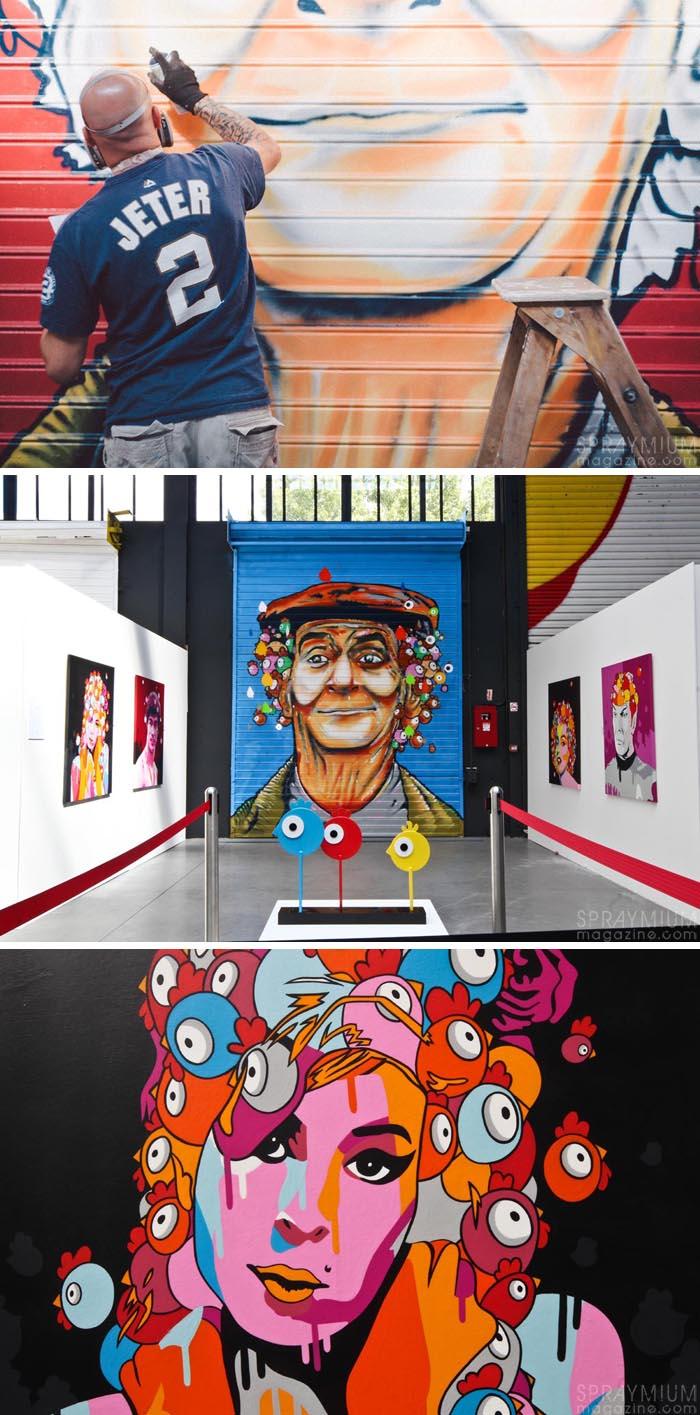 exposition mister freeze toulouse art urbain contemporain graffiti postgraffiti streetart muralism spraymium ceet