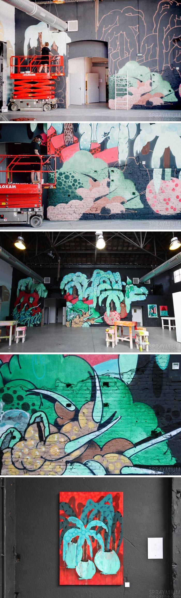 exposition mister freeze toulouse art urbain contemporain graffiti postgraffiti streetart muralism spraymium ilk