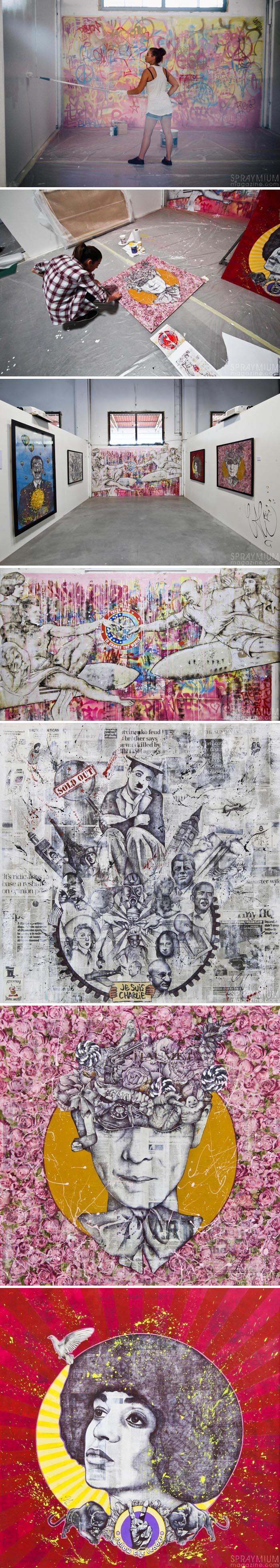 exposition mister freeze toulouse art urbain contemporain graffiti postgraffiti streetart muralism spraymium cali