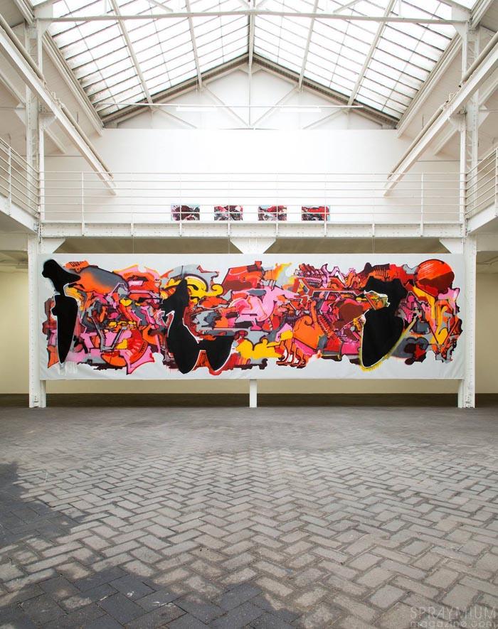 dem189 fabrice yencko w(allover)project mmartproject exposition graffiti postgraffiti arturbain urbanart spraymium