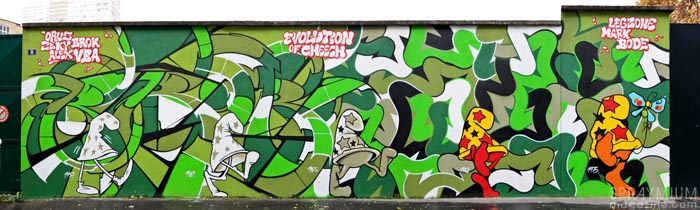 mark bode vaughn bodé graffiti comics cheech wizard spraycan art spraymium taxiegallery nubulo brok legz