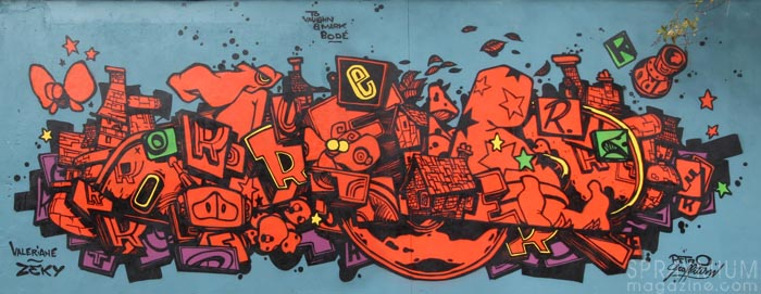 mark bode vaughn bodé graffiti comics cheech wizard spraycan art spraymium taxiegallery nubulo retro