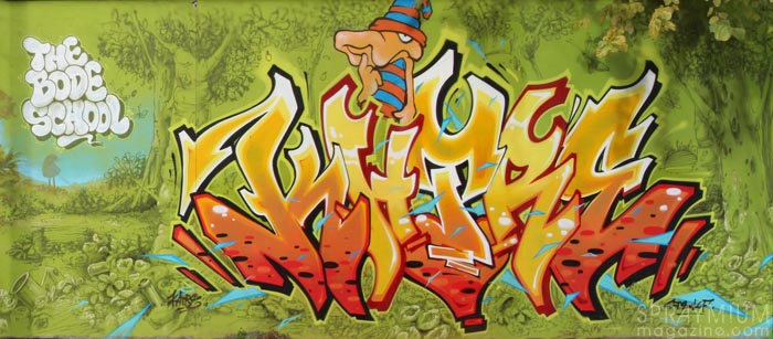 mark bode vaughn bodé graffiti comics cheech wizard spraycan art spraymium taxiegallery nubulo katre maye