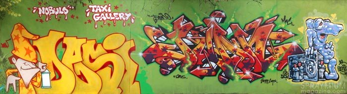 mark bode vaughn bodé graffiti comics cheech wizard spraycan art spraymium taxiegallery nubulo desy juan gonzo