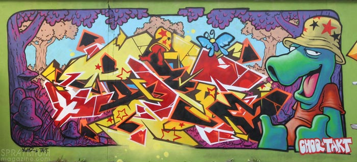 mark bode vaughn bodé graffiti comics cheech wizard spraycan art spraymium taxiegallery nubulo choq takt