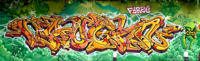 mark bode vaughn bodé graffiti comics cheech wizard spraycan art spraymium taxiegallery nubulo fyrze