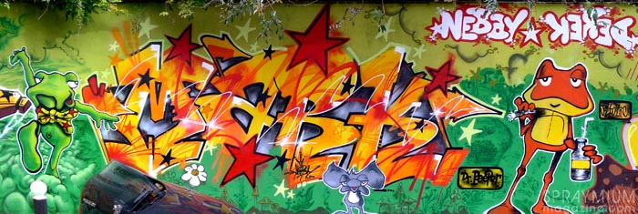 mark bode vaughn bodé graffiti comics cheech wizard spraycan art spraymium taxiegallery nubulo nebay