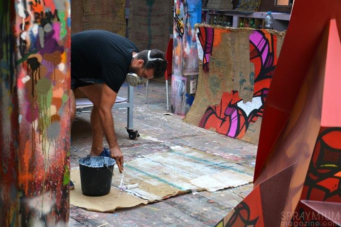 jardin rouge montresso marrakech reso exposition graffiti postgraffiti urban art urbain spraymium