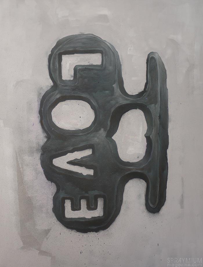 bomk dmv damentalvaporz sculpture love fight exametal spraymium