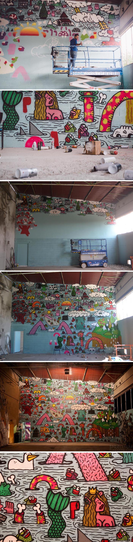 exposition mister freeze toulouse art urbain contemporain graffiti postgraffiti streetart muralism spraymium poes