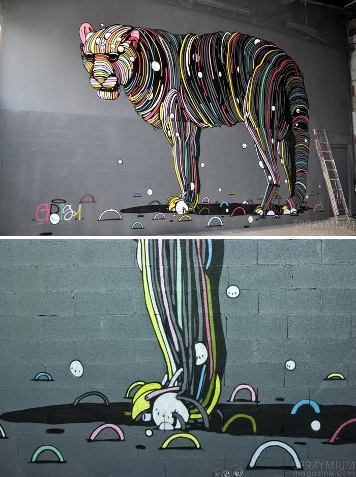 exposition mister freeze toulouse art urbain contemporain graffiti postgraffiti streetart muralism spraymium gris dmv