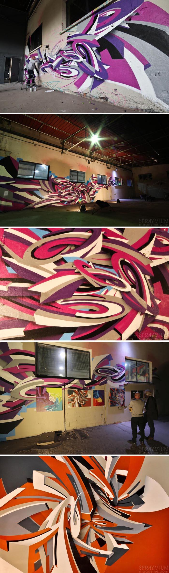 exposition mister freeze toulouse art urbain contemporain graffiti postgraffiti streetart muralism spraymium der
