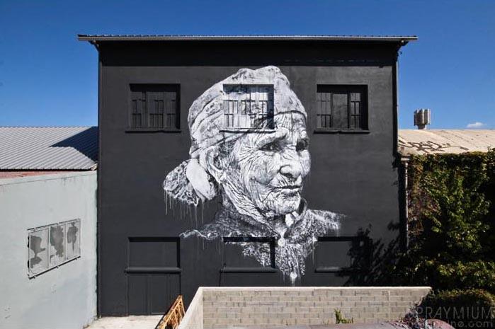 beikirch ecb hendrik hendrikbeikirch jardinrouge maroc marrakech montresso mural muralism portrait postgraffiti tracingmorocco urbanart spraymium