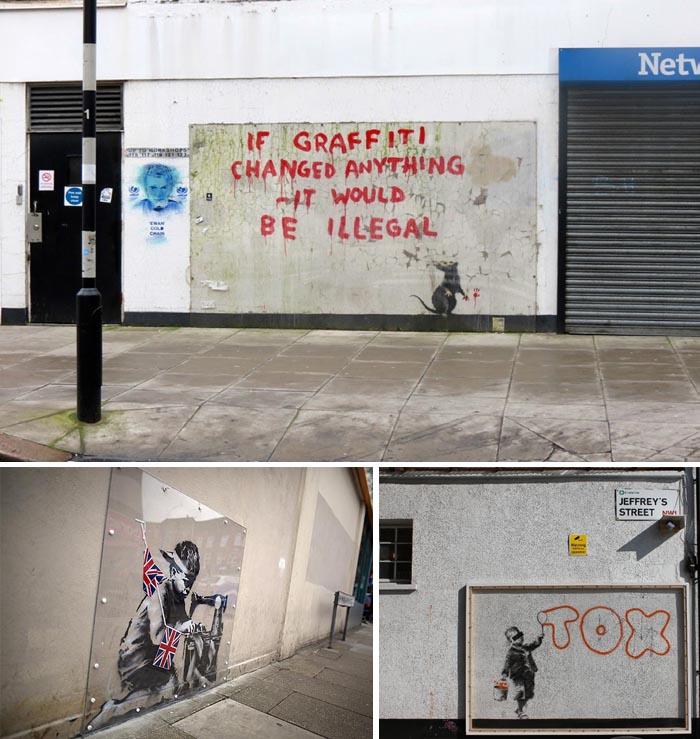 blu street art bologna banksy erase mural spraymium banksy london