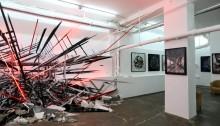 katre ruines sens galerie wallworks exposition installation segraphie graffiti art urbain spraymium