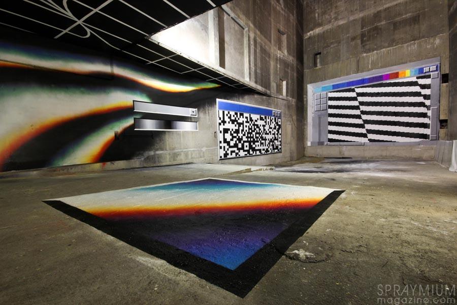 felipe pantone docs ultraboyz lasco project palais de tokyo vinci postgraffiti mural spraymium