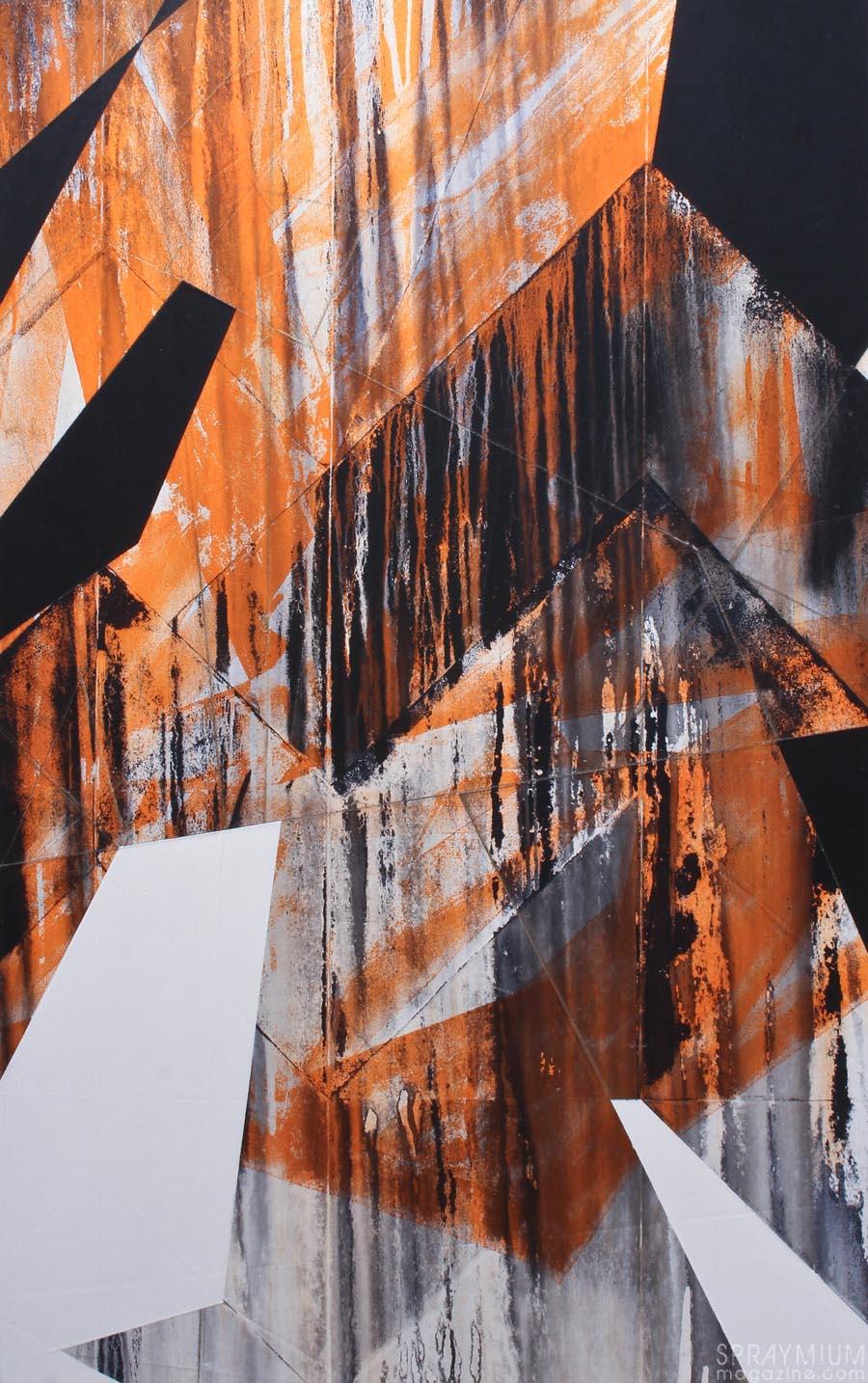 lek dmv damentalvaporz frenchkiss galerie 42b XIX paris villa medicis graffiti postgraffiti graffuturism streetart atelier canvas spraymium exposition abstract painting