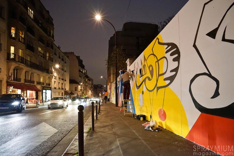 rcf1, art azoï, p2b, graffiti, postgraffiti, urban art, art urbain, fresque, baudouin, jean moderne, spraymium