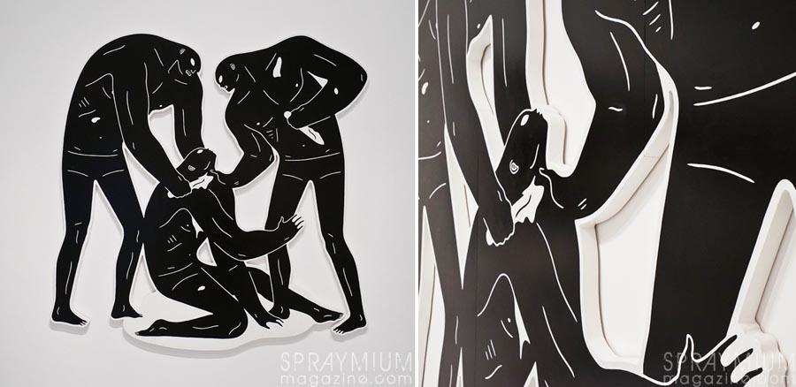 cleon peterson victory exposition galerie du jour agnes b urban art urbain contemporain contemporary spraymium