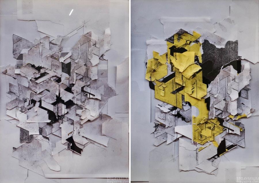 boris tellegen delta mima postgraffiti art urbain bruxelles exposition spraymium