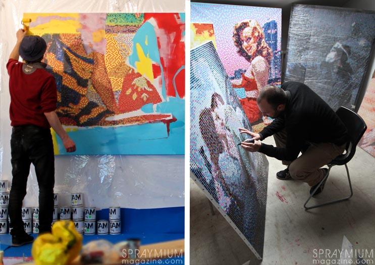 kan blo dmv damentalvaporz nymphas canvas postgraffiti art spraymium