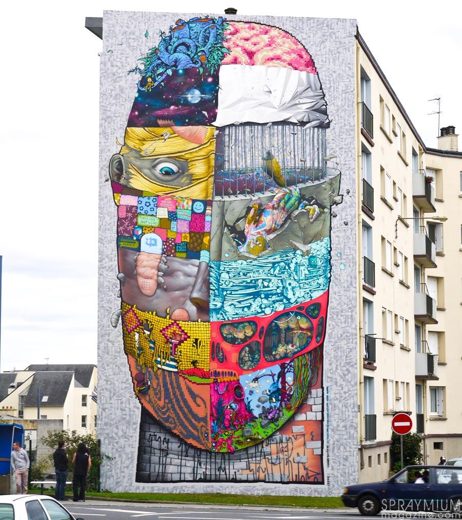 blo bomk kan gris1 sowat dmv damentalvaporz brest graffiti postgraffiti urban art spraymium crimes of mind