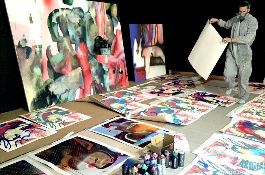 kan blo jaw dmv damentalvaporz nymphas canvas postgraffiti art spraymium villa alliv