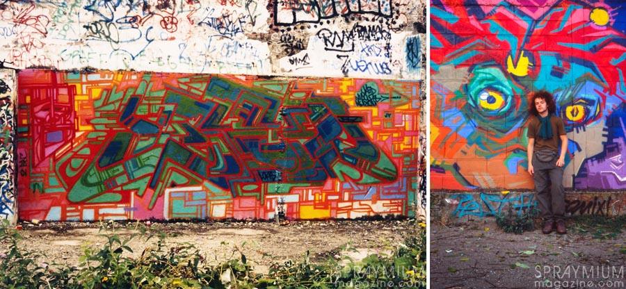 Lokiss Elka PostGraffiti Graffiti Writing Sculpture Graffuturism UrbanArt Extaze Celal Spraymium Gzeley Stalingrad Wildstyle OldSchool