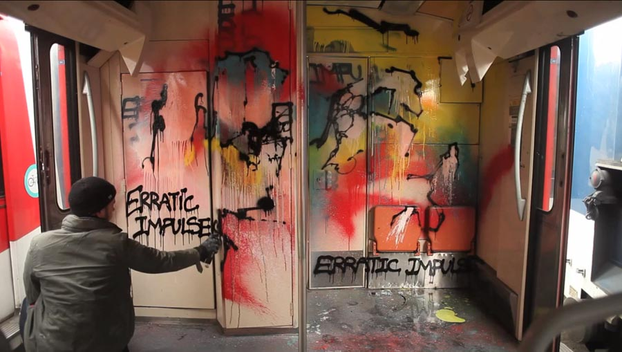 fabrice yencko cokney rabouan moussion graffiti writing postgraffiti urbanart contemporary art spraymium