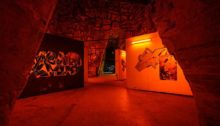 pommery esprit souterrain hugo vitrani art contemporain spraymium gzeley