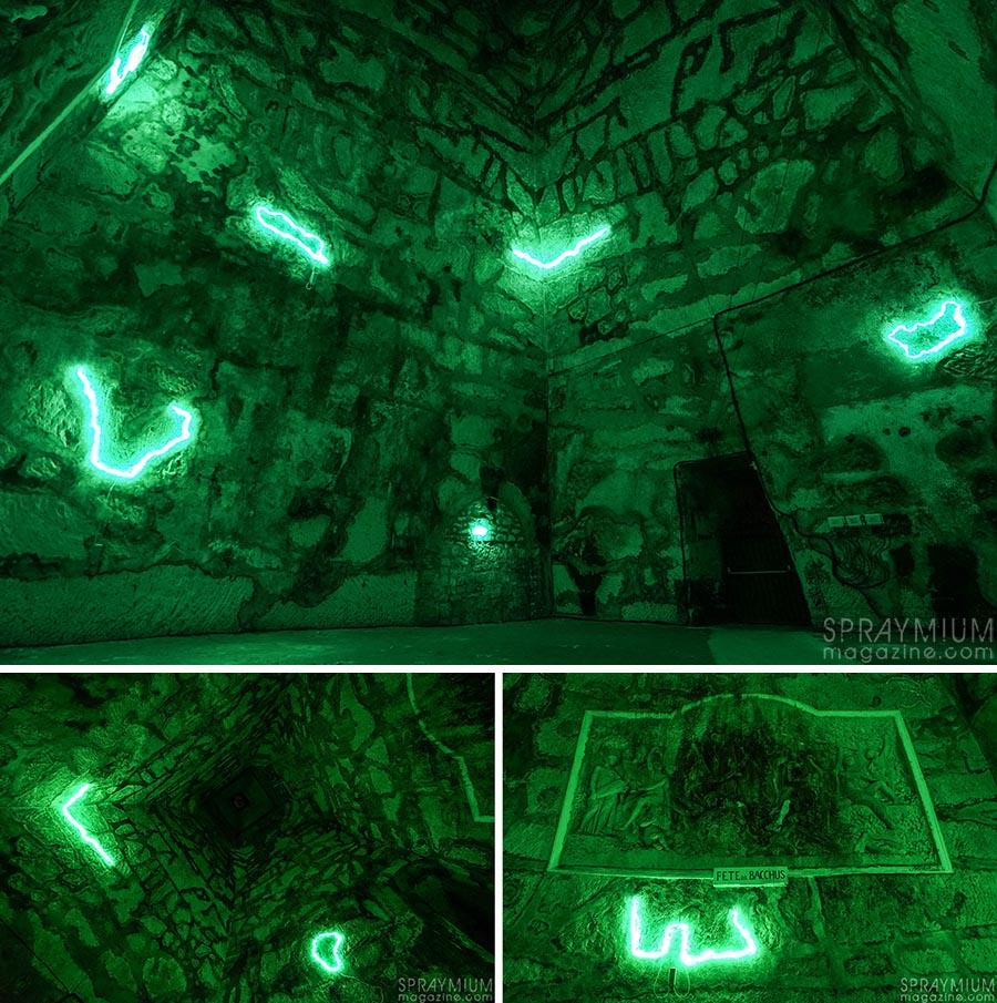 skki pommery esprit souterrain hugo vitrani art contemporain spraymium gzeley