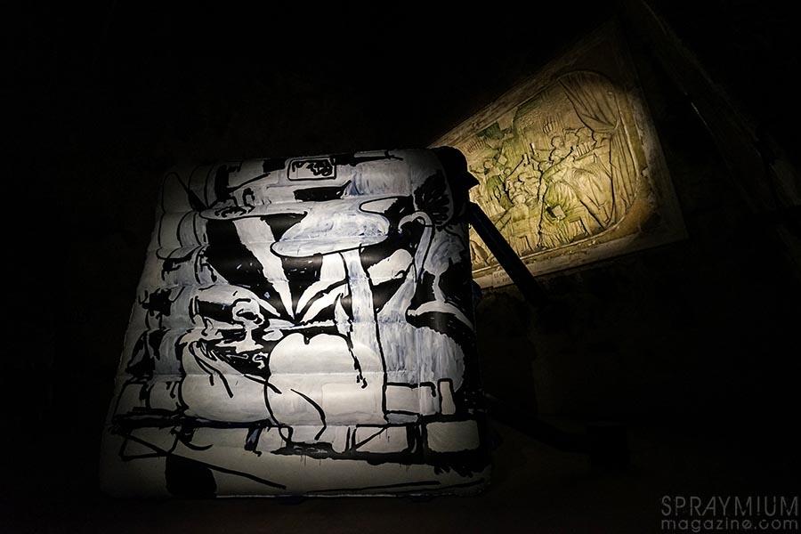 antwan horfee pommery esprit souterrain hugo vitrani art contemporain spraymium gzeley