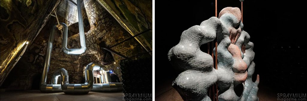 holly hendry zsofia keresztes pommery esprit souterrain hugo vitrani art contemporain spraymium gzeley