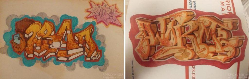 spraymium graffiti sketch sketches sketchs style writing blackbook koolaid131 part1