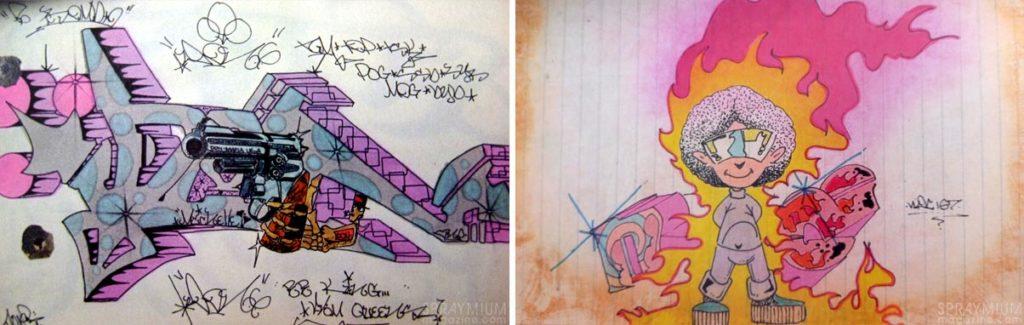 spraymium graffiti sketch sketches sketchs style writing blackbook don1 noc167