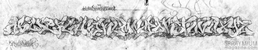 spraymium graffiti sketch sketches sketchs style writing blackbook shick