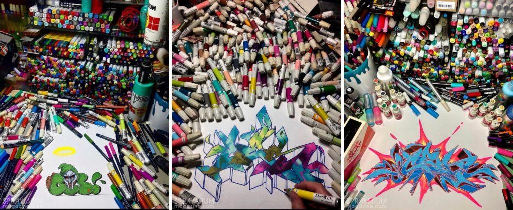 spraymium graffiti sketch sketches sketchs style writing blackbook ces