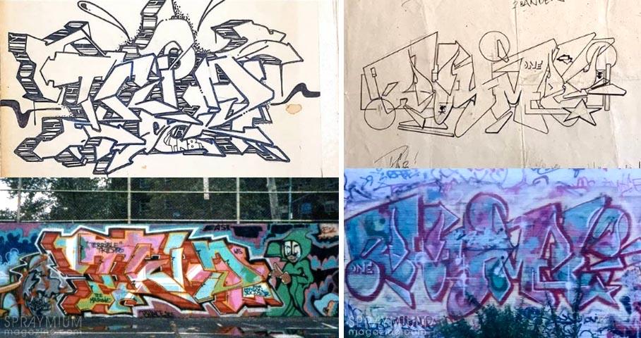spraymium graffiti sketch sketches sketchs style writing blackbook subwayart aerosolart spraycanart tkid tkid170 rhyme