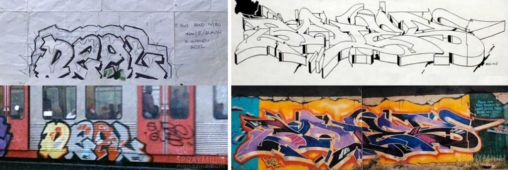 spraymium graffiti sketch sketches sketchs style writing blackbook subwayart aerosolart spraycanart deal bates