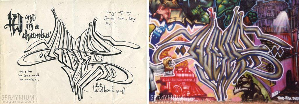 spraymium graffiti sketch sketches sketchs style writing blackbook subwayart aerosolart spraycanart hoctes hoctez
