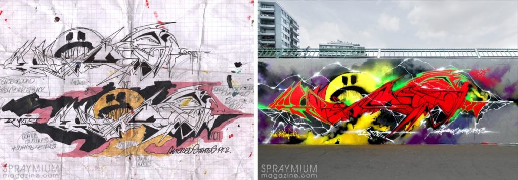 spraymium graffiti sketch sketches sketchs style writing blackbook subwayart aerosolart spraycanart func