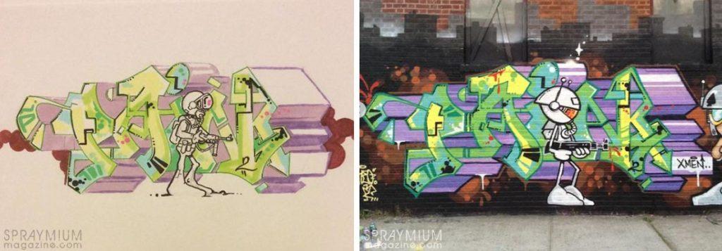 spraymium graffiti sketch sketches sketchs style writing blackbook subwayart aerosolart spraycanart pain2 keo