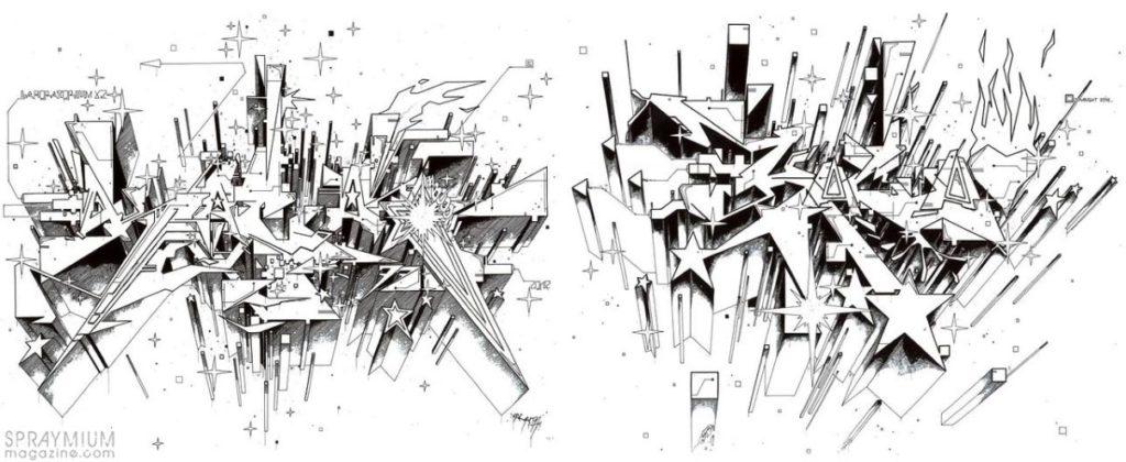 spraymium graffiti sketch sketches sketchs style writing blackbook subwayart aerosolart spraycanart kacao77